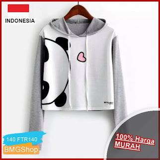 FTR140 Sweater Crop Hoodie Love Panda BMGShop