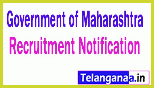 Government of Maharashtra Recruitment Notification