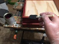 Apply 2 coats of varnish. Sand with fine steel wool between coats