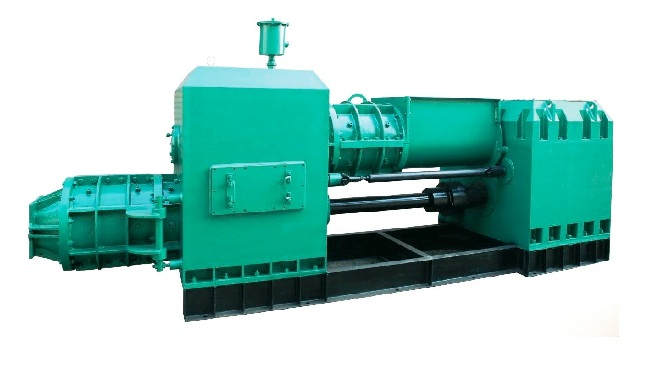 Auto Brick making machine: Vacuum extruder, double stage, Integral type