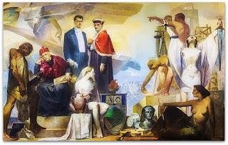 As Profissões, Aldo Locatelli (Óleo sobre Tela, 1958)