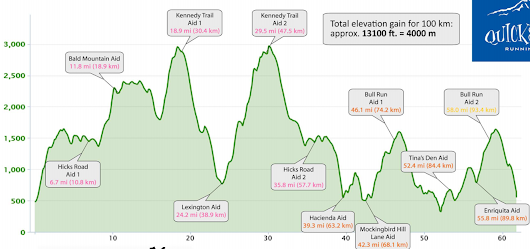 Quicksilver 100k 2015 Race Report