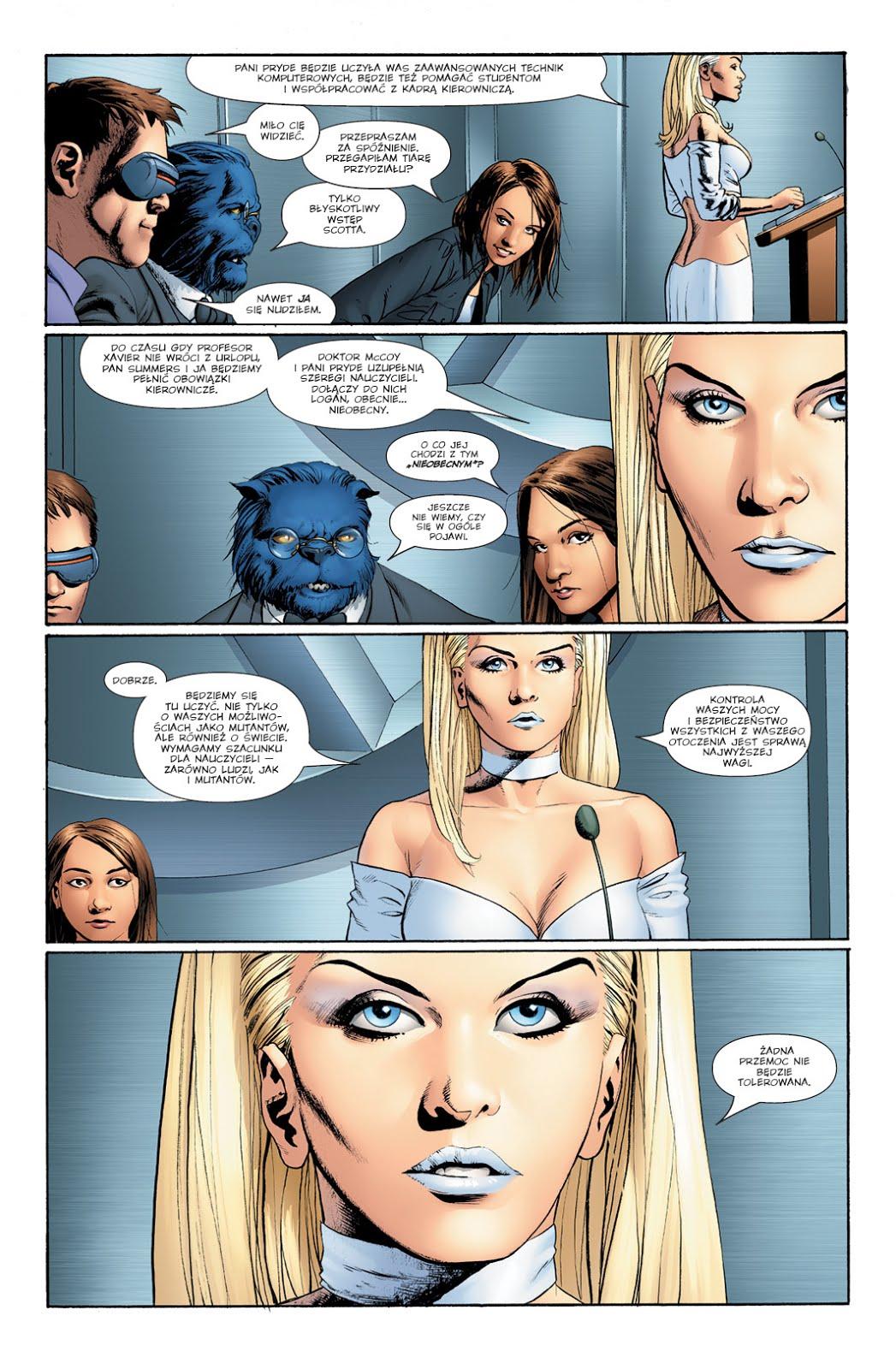 Astonishing X-Men tom 1 przykładowa strona