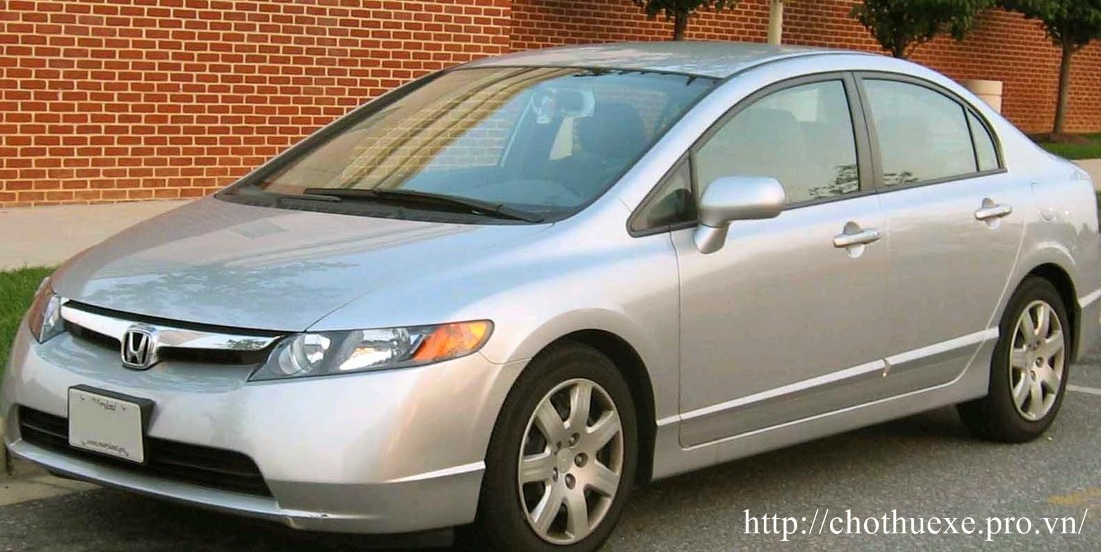 Cho thuê xe 4 chỗ Honda Civic giá rẻ tại tại hà nội