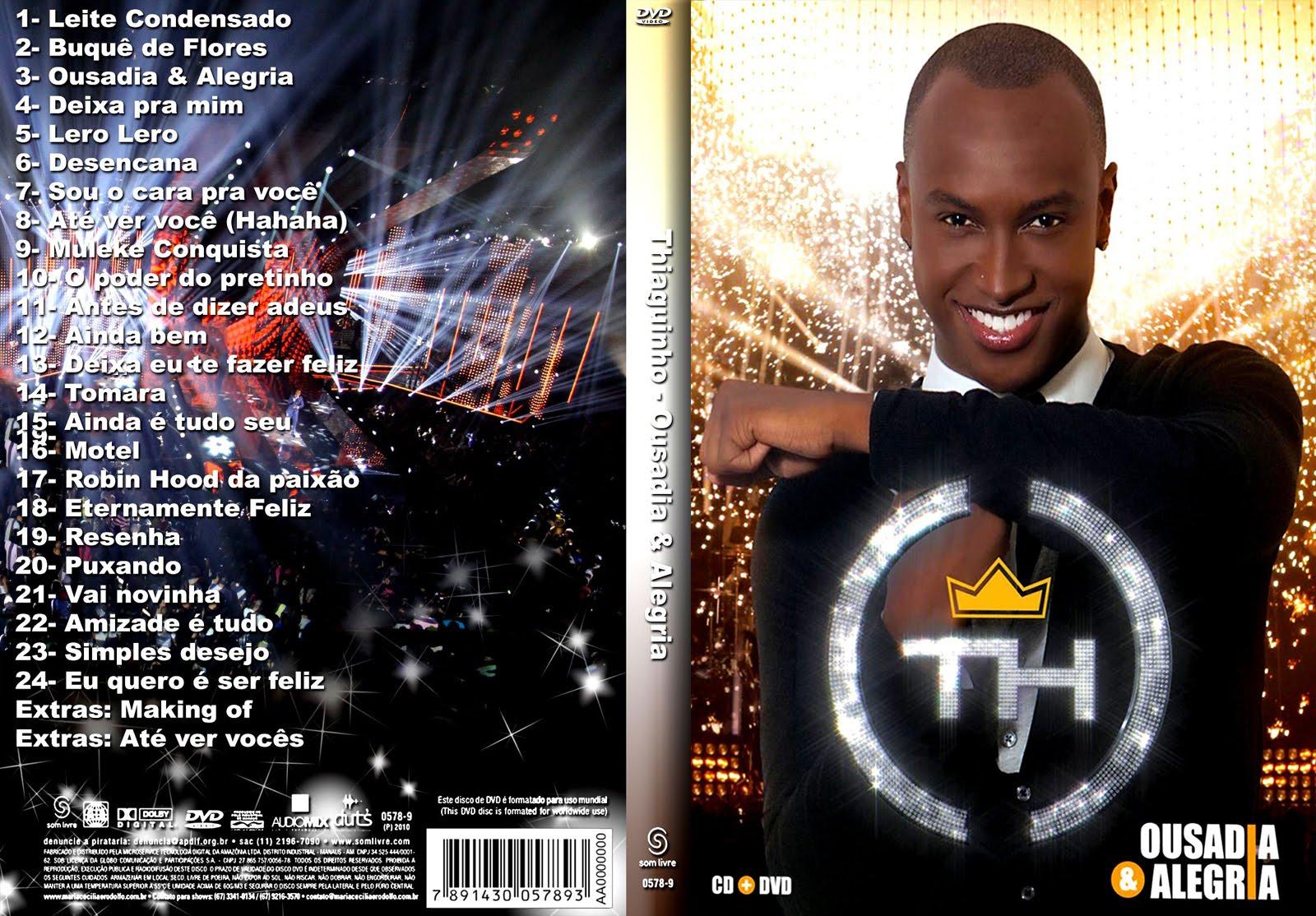 novo cd thiaguinho 2012 ousadia e alegria gratis