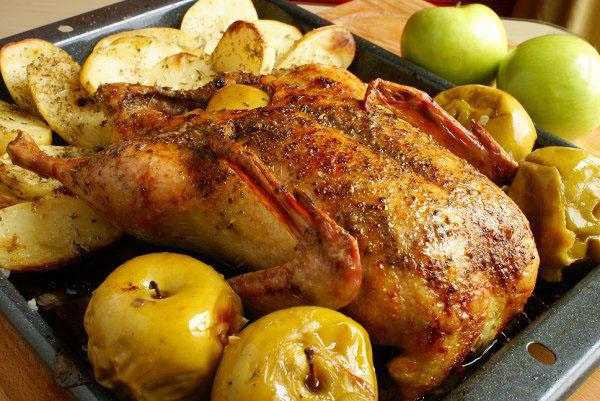 Утка с горчицей запеченная в духовке