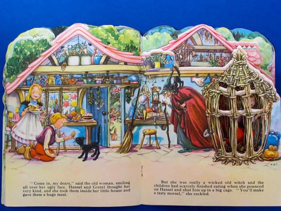 Kiddie Kut Books Molly B. Thomson Hansel and Gretel