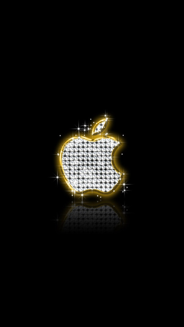 Apple Gold Diamonds IPhone 7 And Plus HD Wallpaper