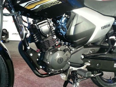 Yamaha Saluto 125 engine view HD Photo