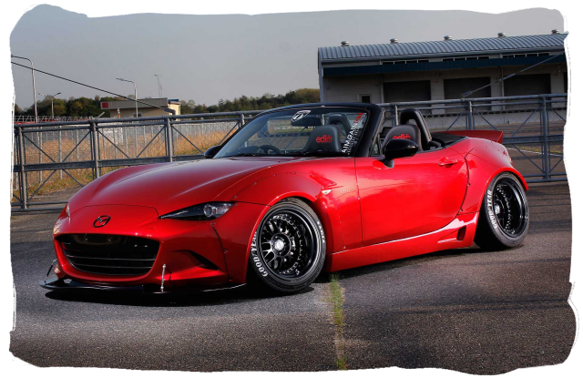 Aimgain's Soul Red Roadster ND Demo Car
