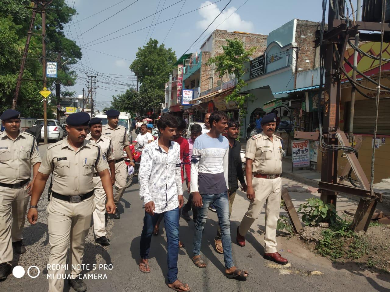 Indore News- 4-criminal-arrested-for-planning-robbery-डकैती की योजना बनाते 4 शातिर बदमाश गिरफ्तार