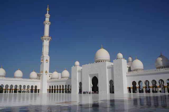 Grande Mesquita Abu Dhabi Sheikh Zayed
