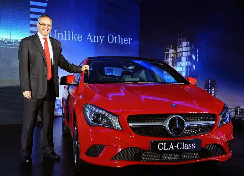 Mercedes-Benz CLA Class launch India