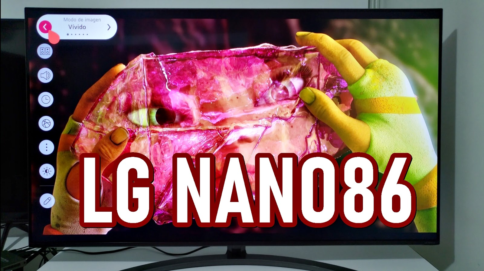 smart tv lg nanocell nano86 y nano5