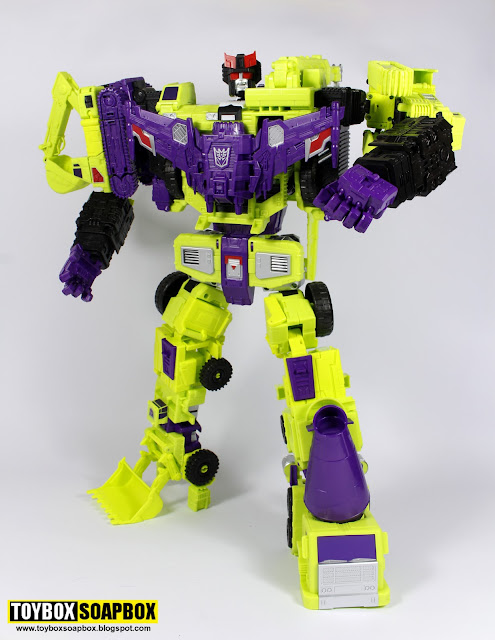 combiner wars perfect effect devastator prowlastator head