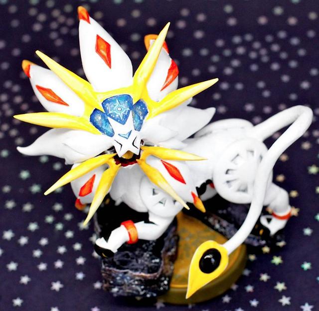 ¡No te pierdas el amiibo de Solgaleo! (fanmade Pokémon Sol y Pokémon Luna) 2
