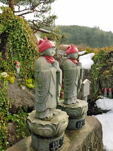 Jizo Temple, Gero, Gifu Prefecture, Japan.