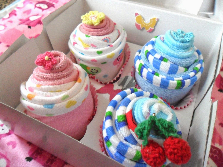 Cupcake Onesie Cake