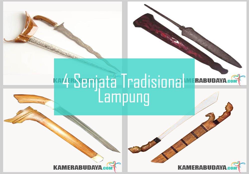 Inilah 4 Senjata Tradisional Dari Lampung