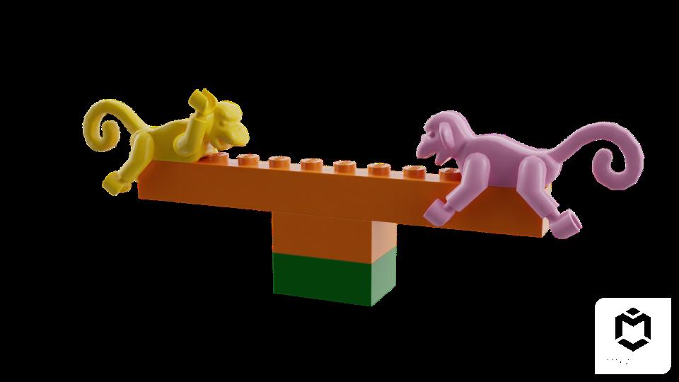 Blender Sushi: IDEA / Using Mecabricks LEGO Cloud Builder
