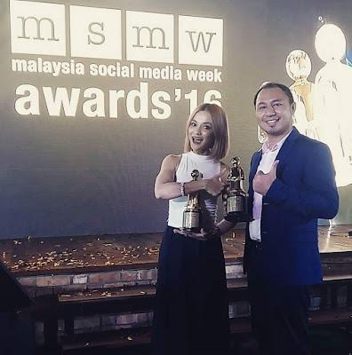 Best Content Blog dalam Malaysia Social Media Award 2016