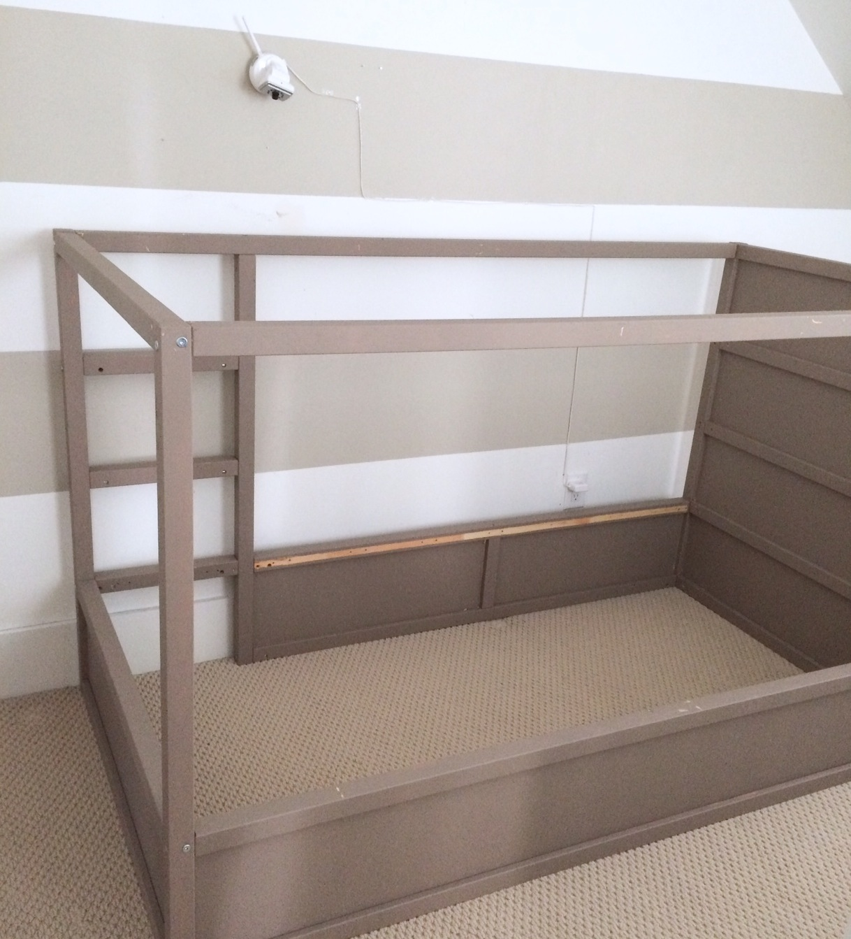 Ikea Kura Bed Hack Diy Boy Canopy Bed Harlow Amp Thistle