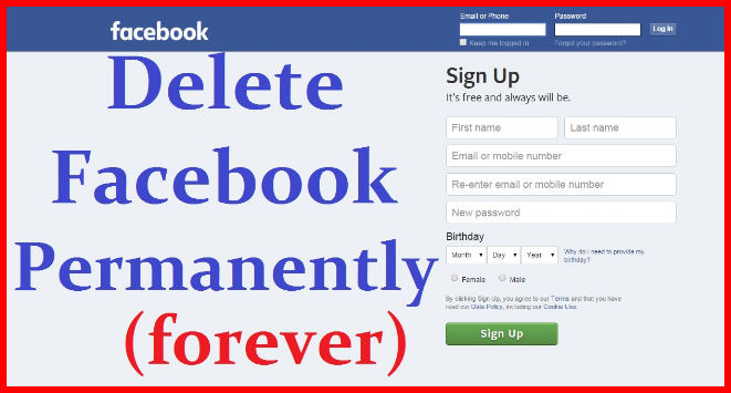 How to permanently delete your facebook ccuart Choice Image