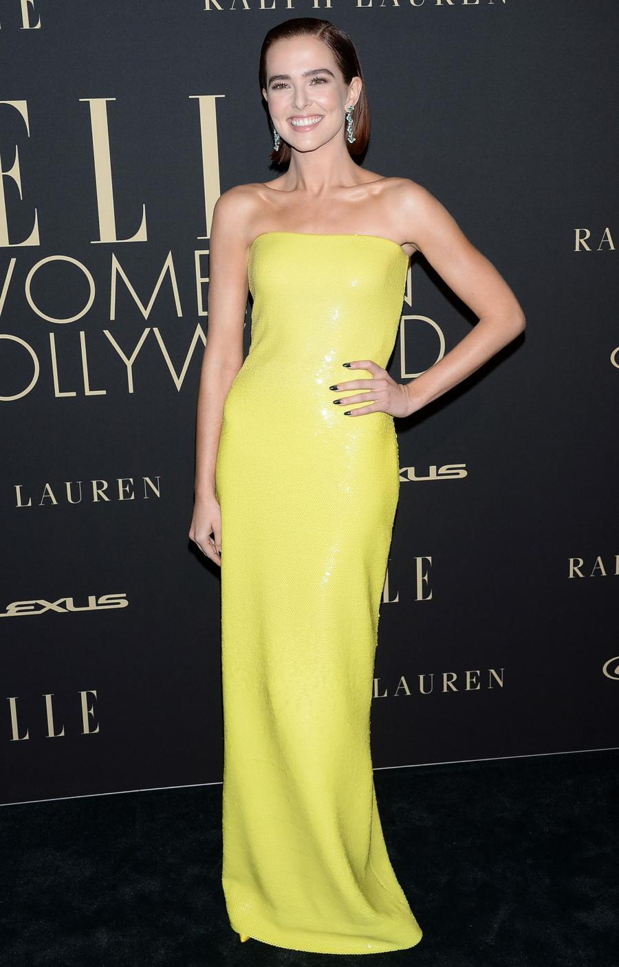 Zoey Deutch at ELLE's 2019 Women In Hollywood Event