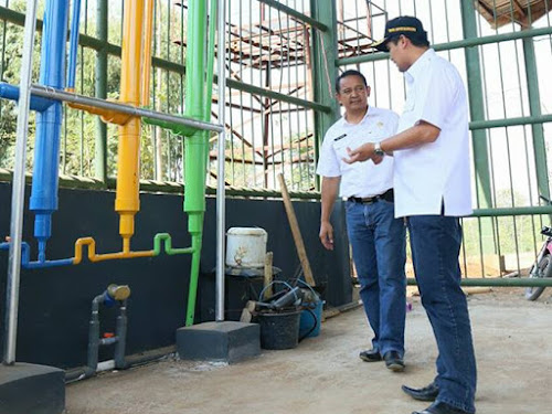 Distribusi Gas Metan Ciparay Kabupaten Bandung