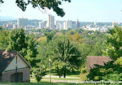 Reservoir Park in Harrisburg Pennsylvania - Harrisburg City Skyline