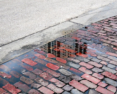 Old city bricks