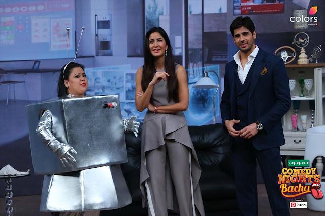 Katrina Kaif & Sidharth Malhotra on Comedy Nights Bachao to Promote Baar Baar Dekho