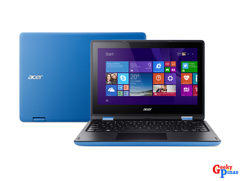 Acer's R11 convertible notebook