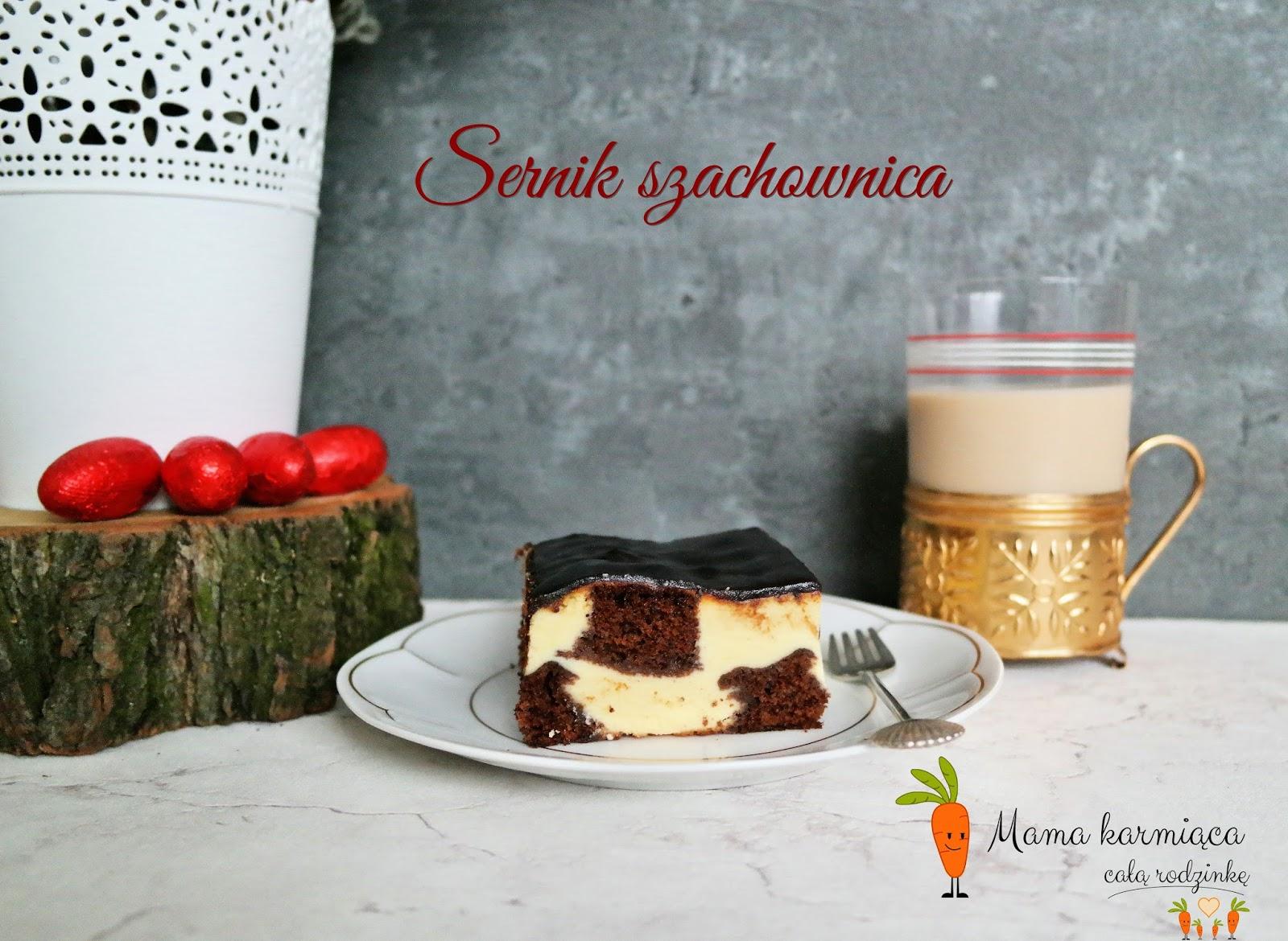 Sernik szachownica
