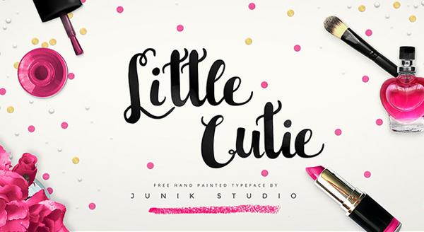 Little Cutie Free Font