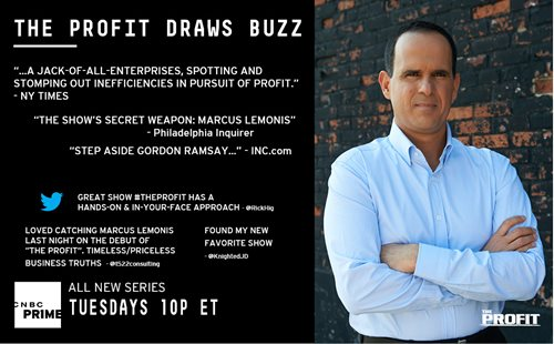 Marcus Lemonis Stars on The Profit