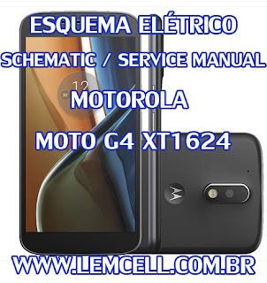 Esquema Elétrico Smartphone Celular Motorola Moto G4 XT1624 Service Manual schematic Diagram Cell Phone Smartphone Motorola Moto G4 XT1624 Esquema Eléctrico Smartphone Celular Motorola Moto G4 XT1624 Manual de servicio