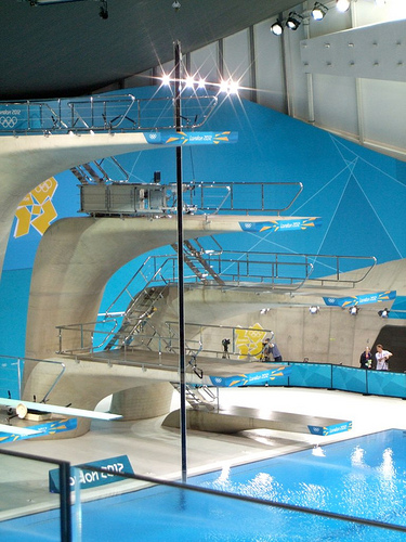 Diving Pool, Aquatics Centre London