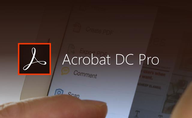 حصرياً برنامج ADOBE ACROBAT PRO DC  + التفعيل 2016
