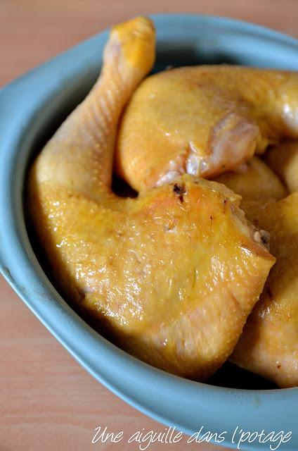 poulet jaune