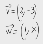 22.Vectores ortogonales y parámetro