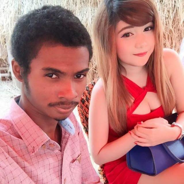 Pria Hitam asal Kamboja Istrinya Super Cantik