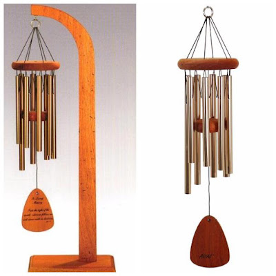 "Enter the  QMT 24"" Arias Copper Windchime & Tabletop Display Giveaway. Ends 10/25"