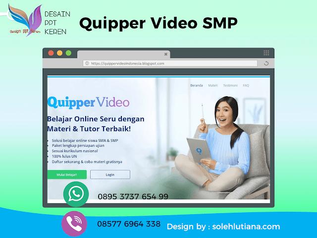 Quipper Video SMP Solusi Belajar Online yang Seru