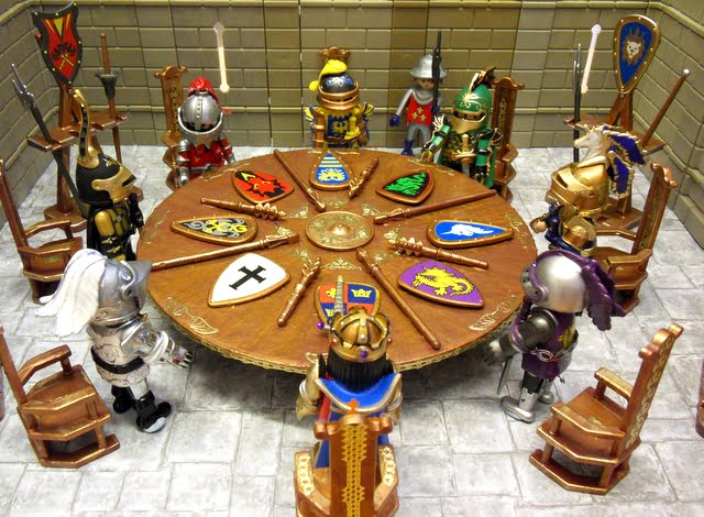 Ordinaire King Arthur U0026 His Knights Of The Round Table