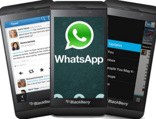 how do I get whatsapp to work on bb10 blackberry