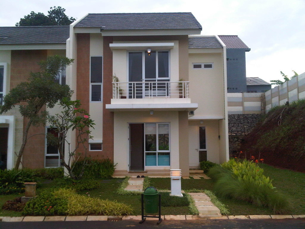16 Contoh Rumah Minimalis Type 36 2 Lantai Modern Beserta Denahnya
