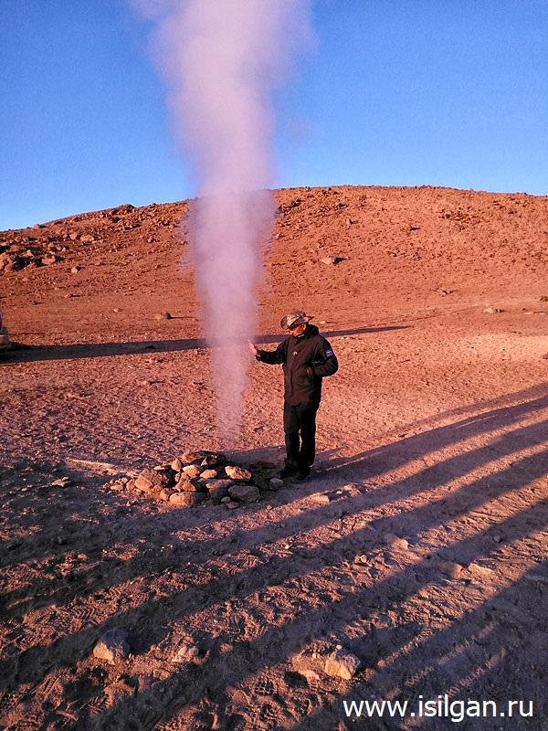Geotermalnoe-pole-Sol-de-Manjana-Manana-Plato-Altiplano-Bolivia