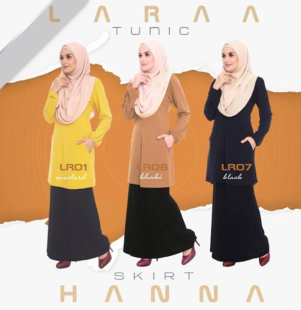 Skirt Hanna , multipurpose  skirt hitam mudah kepejabat