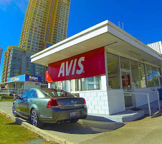Avis Car Rental Store